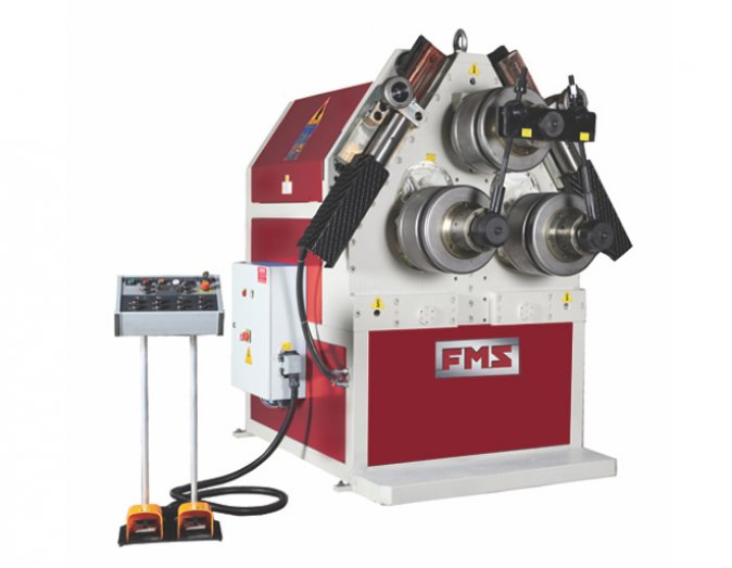 FMS hydraulic profile bending machine