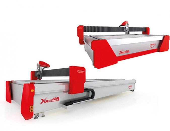 optima series water jet cutter