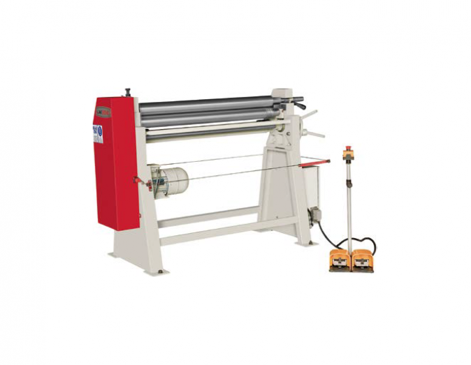 3 rolls asymetrical plate bending machines