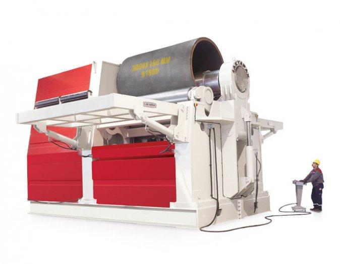 4 rolls hydraulic bending machine