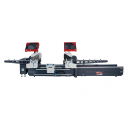 FMS DH-550 A5 Full Automatic Digital Double Head Cutting Machine with Forward Motion Blade Ø 550 mm