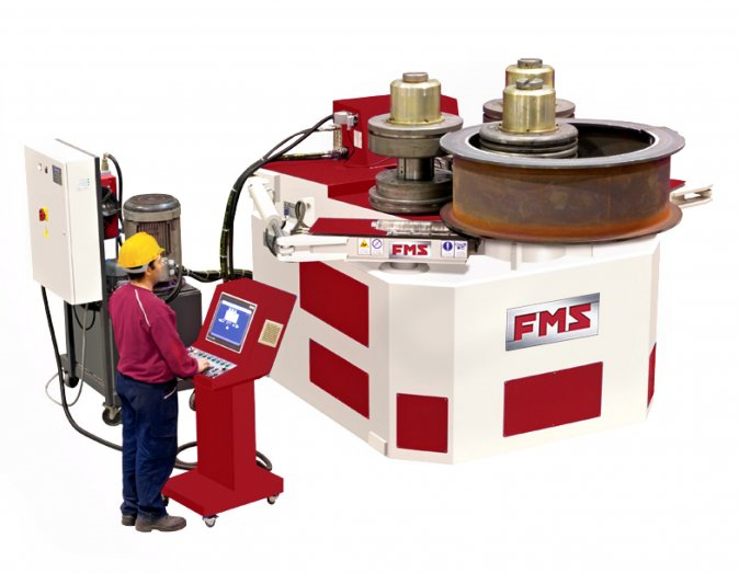 FMS 300 HYDRAULIC PROFILE BENDING MACHINE