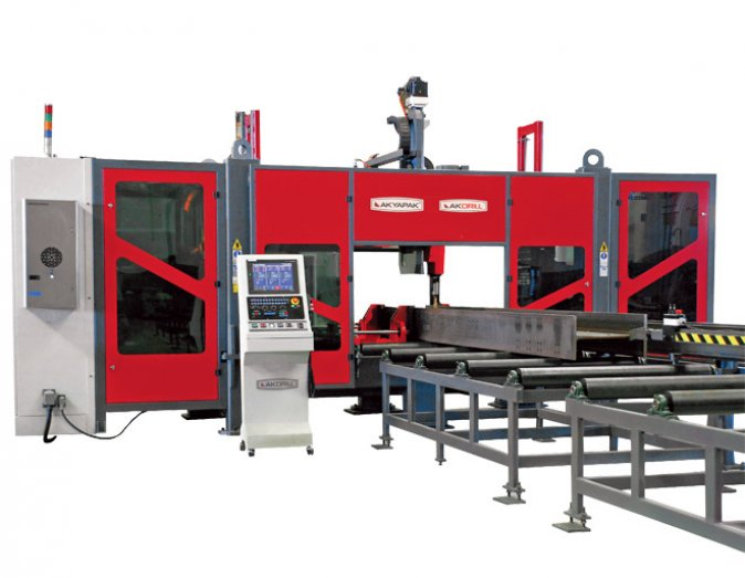 Structural Steel Solutions 3ADM 1200 CNC Marking Cutting Line