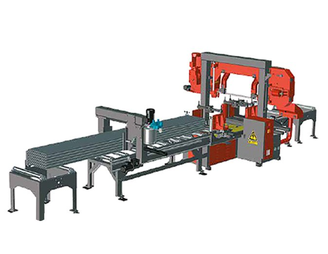 band saws FMS band saw servo feeder