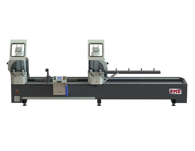 FMS DH450 - IV SA - Automatic Digital Double Head Cutting Machine with Forward Motion Blade of Ø 450 mm