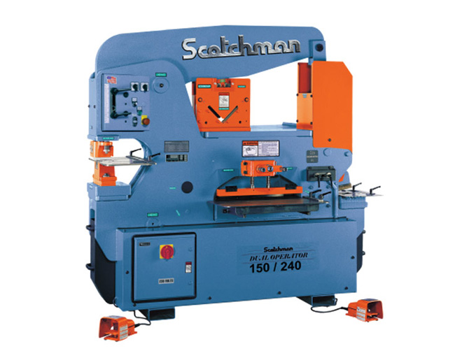 150/240 scotchman ironworker