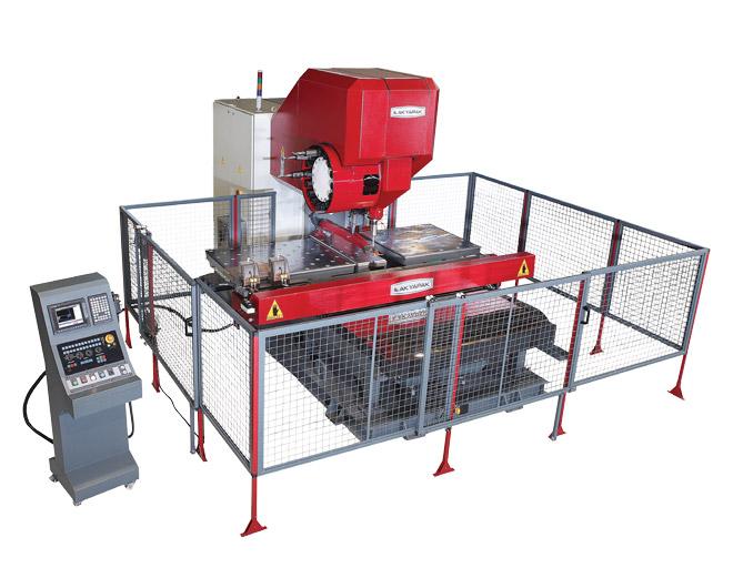 CNC Flange Drilling Machine