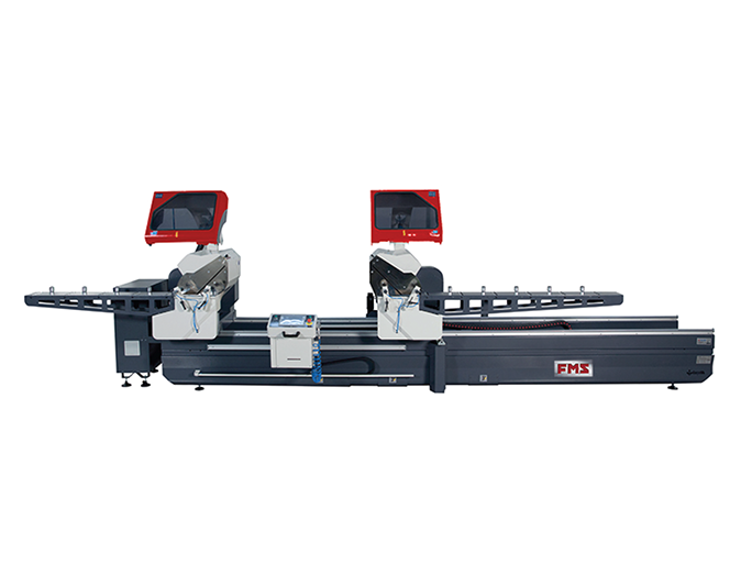 FMS DH-550 A5 - CNC Controlled Full Automatic Digital Double Head Cutting Machine with Forward Motion Blade Ø 550 mm